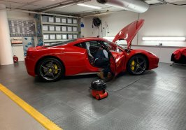 Ferrari London Car Storage