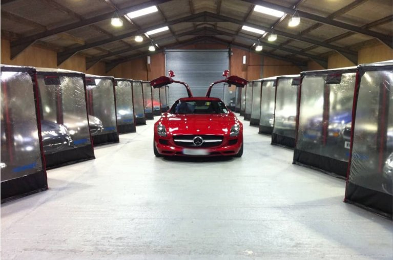 AirChamber car storage 'bubble'