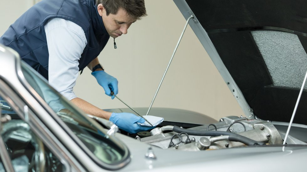 Maintain mechanicals during long term car storage