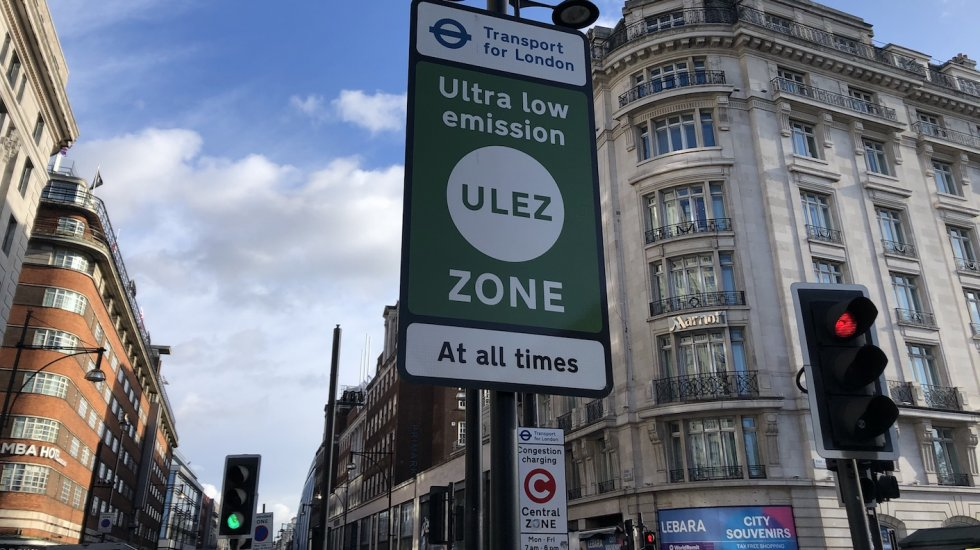 What does the new Ultra-Low Emission Zone in Central London mean for car enthusiasts?