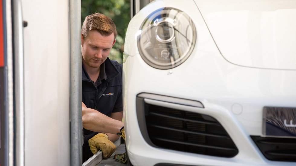 From climate control to photo updates – discover how Windrush prestige car storage goes the extra mile
